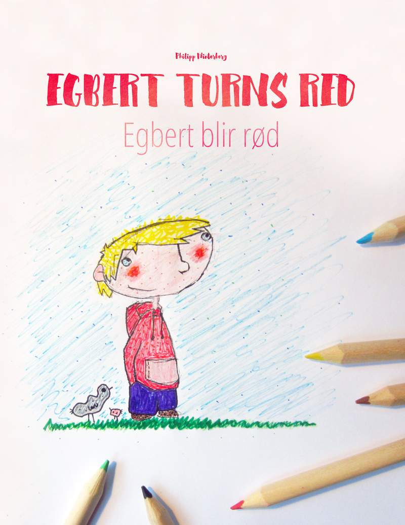 Egbert blir rød